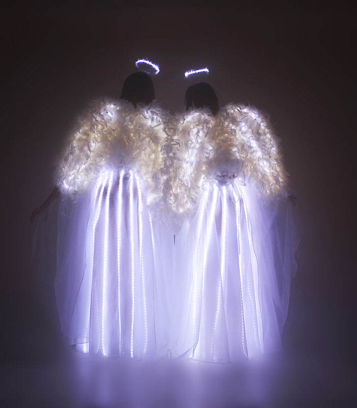 Light of Dance LED Angel Tanz