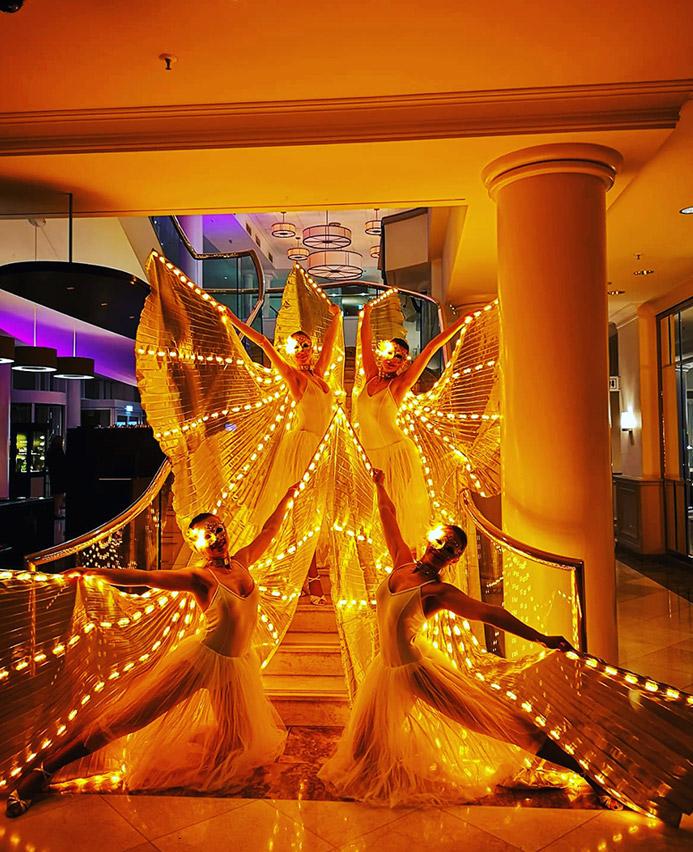 LED Tanzshow München
