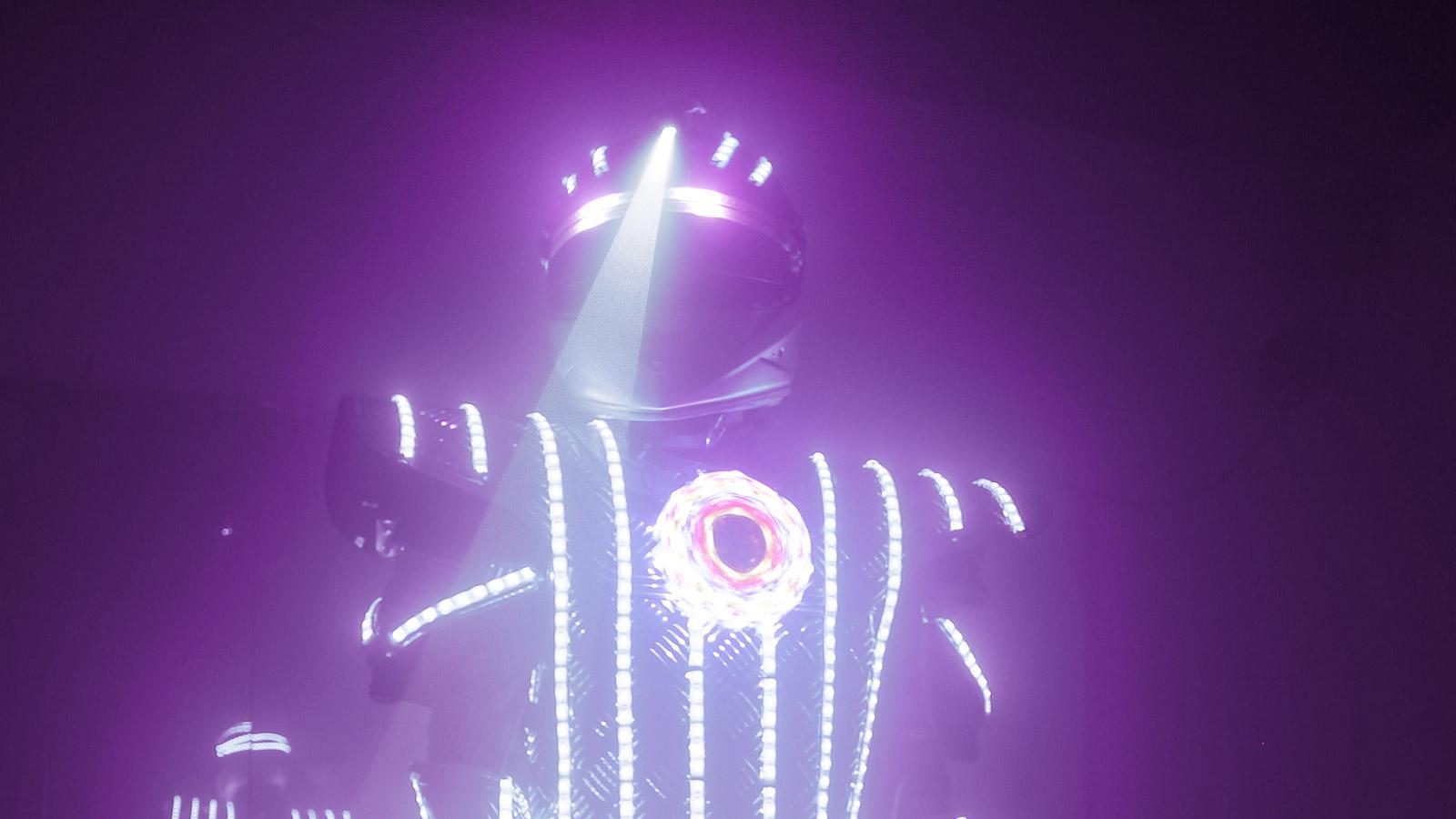 LED Show Ballett LED Roboter