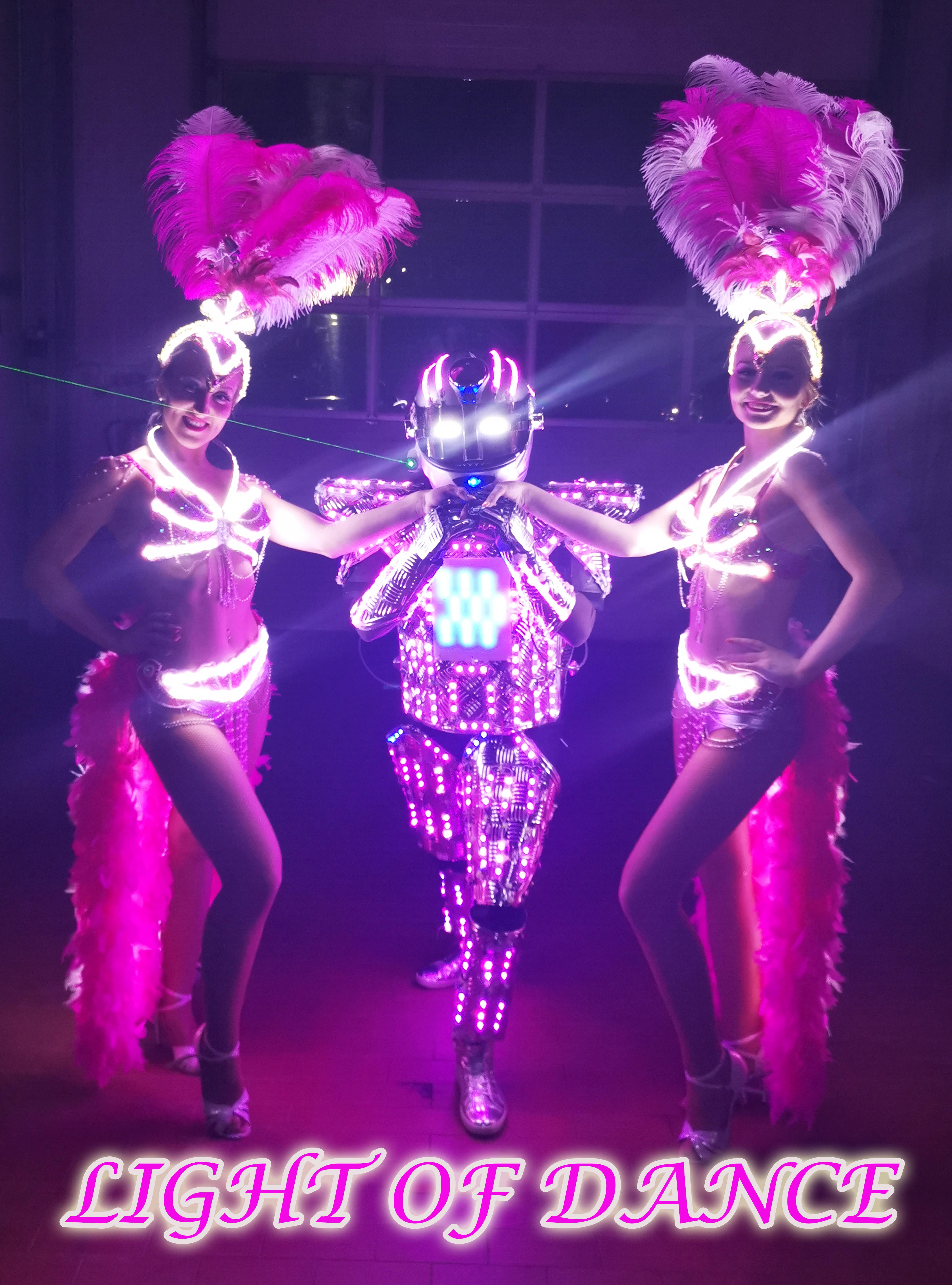 LED Samba und Roboter