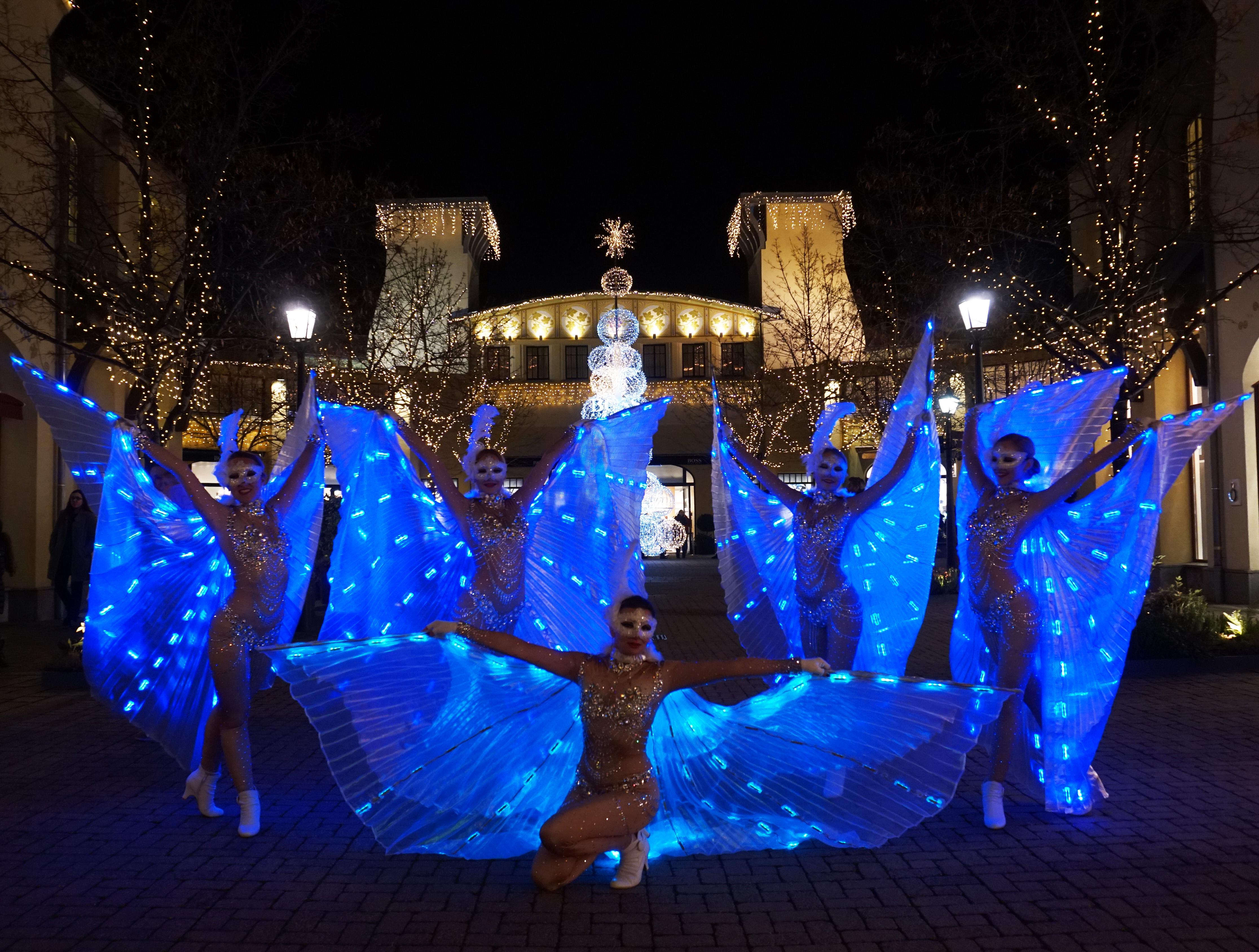 LED Tanz Show Deutschland